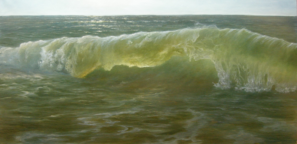 Море. Волна. Картина маслом. Живопись. В.Бурцева